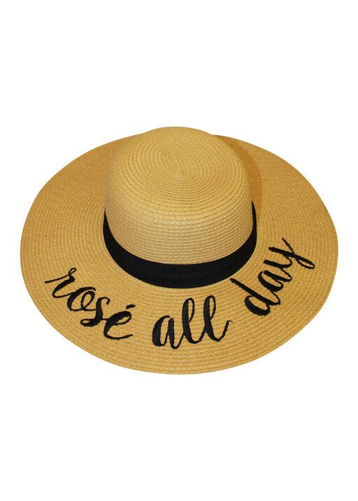 Rose All Day Floppy Sun Hat, Natural, original
