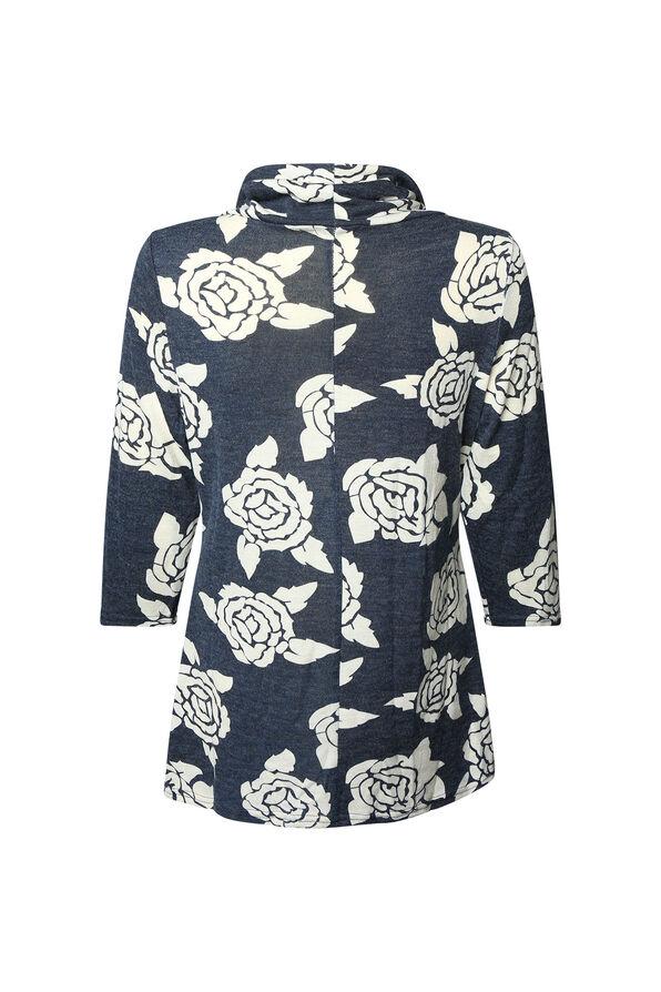 Lorelei Rose Adorned Tunic, Denim, original image number 1