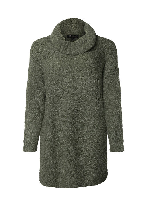 Vi One Size Sweater with Cowl Neck , , original