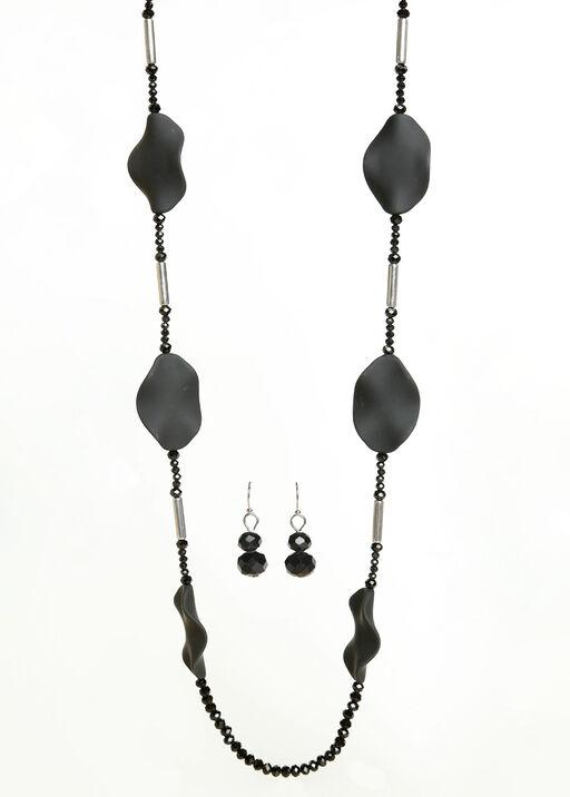 Jasmine Necklace Set, Silver, original