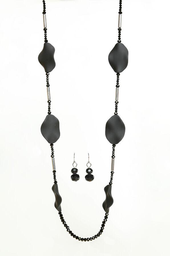 Jasmine Necklace Set, Silver, original image number 0