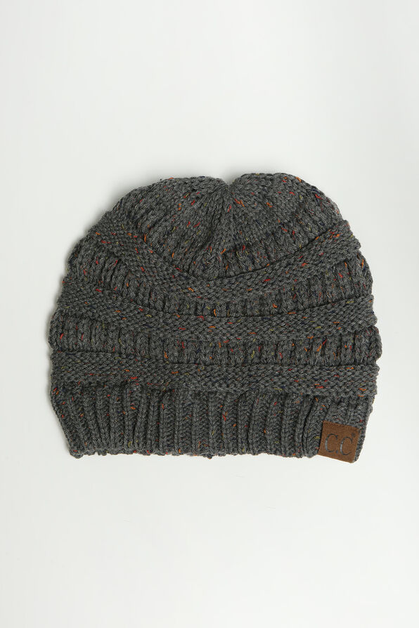 Cable Knit Beanie, , original image number 1