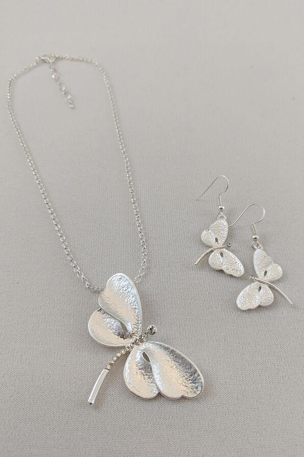 Dreamy Dragonfly Set, Silver, original image number 0
