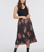 Pleat-Is-In Skirt, Black, original image number 0