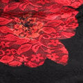 Luscious Lace Top, Red, swatch