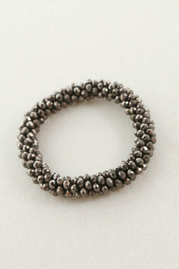 Chiseled Crystal Bracelet, Black, original image number 0