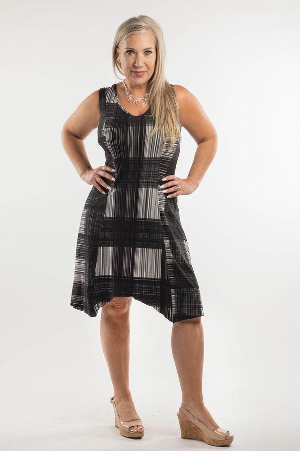 Patricia Sleeveless Dress, Black, original image number 0