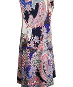 Sleeveless Paisley Swing Dress, Multi, original image number 2