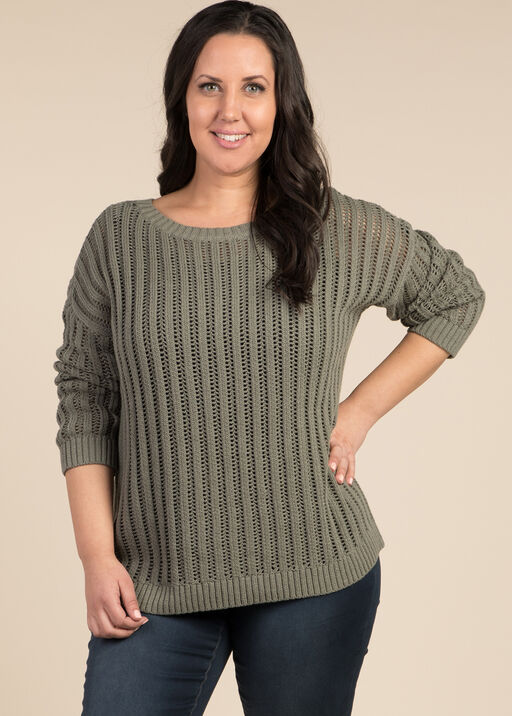 Sunday Sweater, Green, original