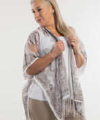 Perfect in Paisley Kimono, White, original image number 1
