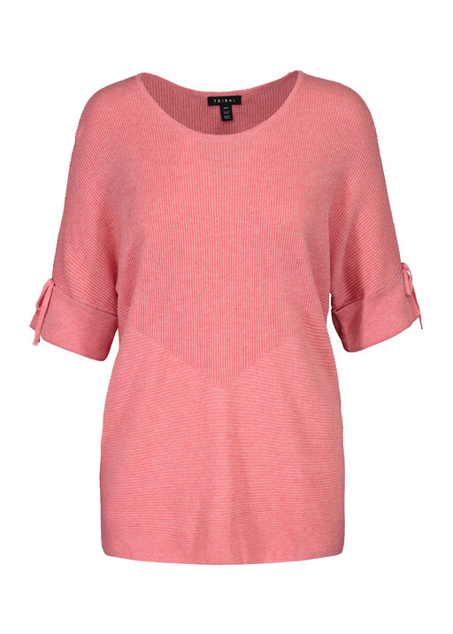 Dolman Short Sleeve Sweater, , original