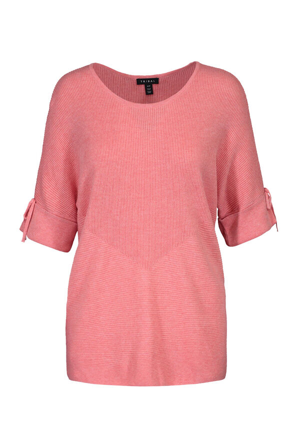Dolman Short Sleeve Sweater, , original image number 0