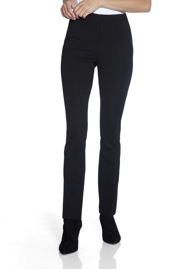 The Hugger-Compression Waist UP! Pants, Black, original image number 1