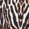 Stunning Animal Puff Print, Brown, swatch