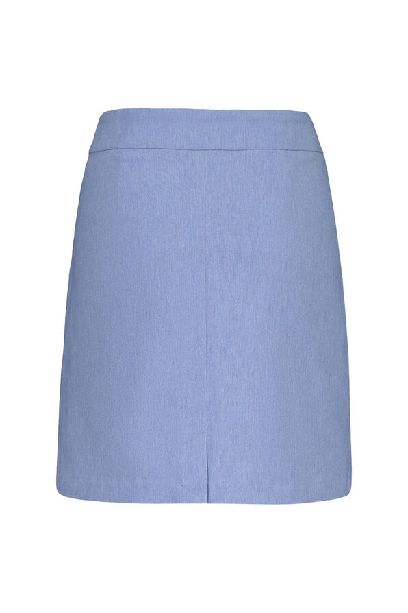 Pull On Golf Skort , Indigo, original image number 1