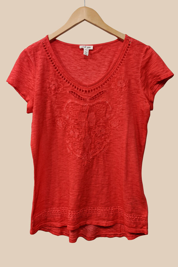 Embroidered Style Top, , original image number 7