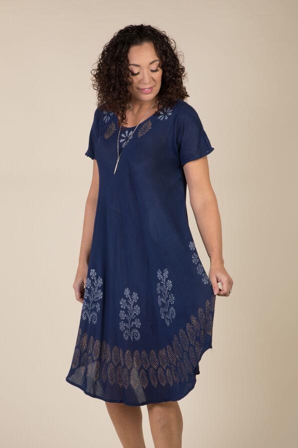 Indigo Dream Dress, Navy, original image number 1