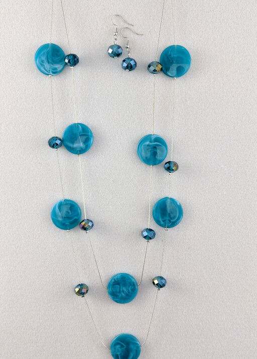 Gwen Necklace and Earrings Set, , original
