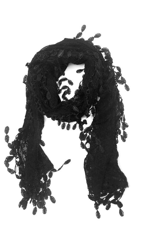 Lace Scarf, , original image number 1