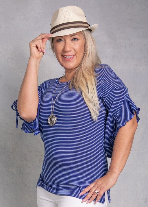 Vanessa Ruffle Sleeved Top, , original