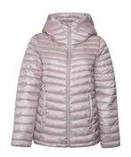 Slim Fit Ultralight Hooded Puffer Coat, , original image number 0