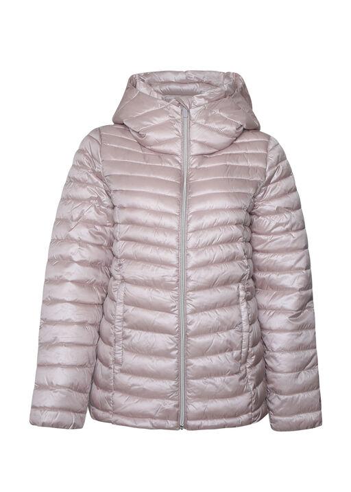Slim Fit Ultralight Hooded Puffer Coat, , original