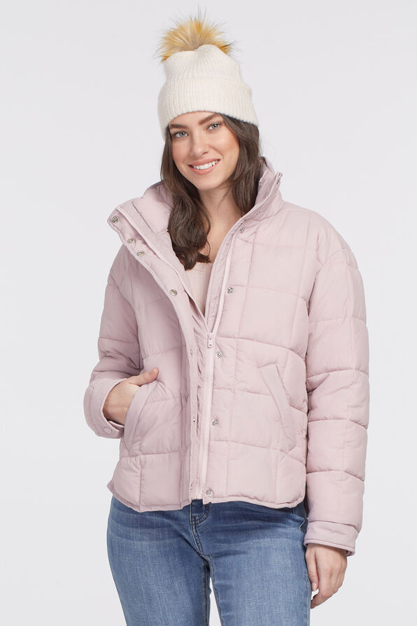 Canadian Puffer Jacket, Pink, original image number 2
