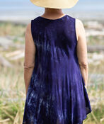 Sleeveless Multi-Coloured Tunic, Purple, original image number 1