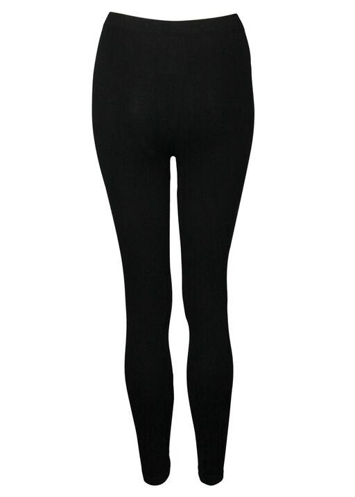 High Waist Shaping Bamboo Legging, Black, original