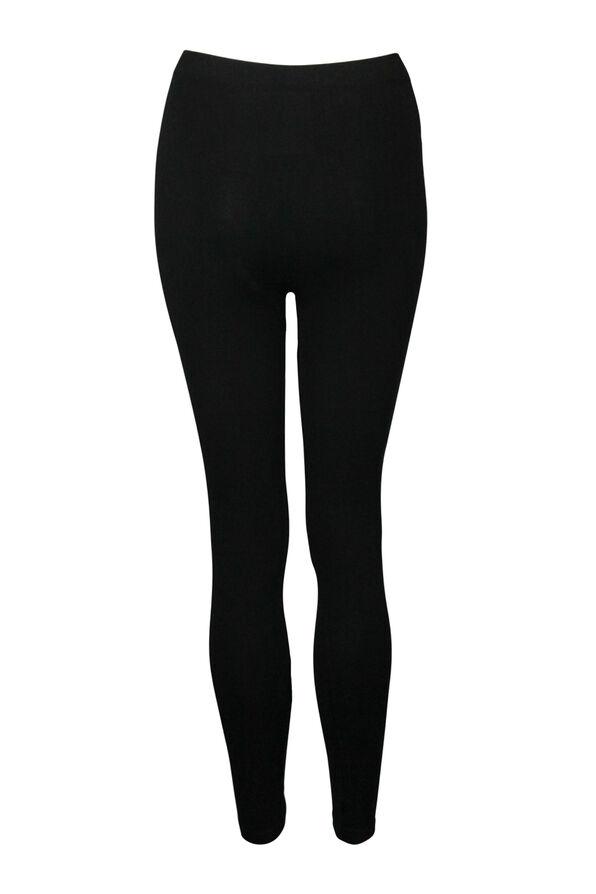 High Waist Shaping Bamboo Legging, Black, original image number 0