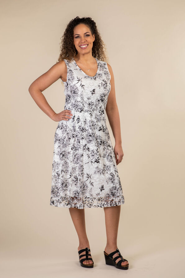 Grace in Lace Dress, White, original image number 0