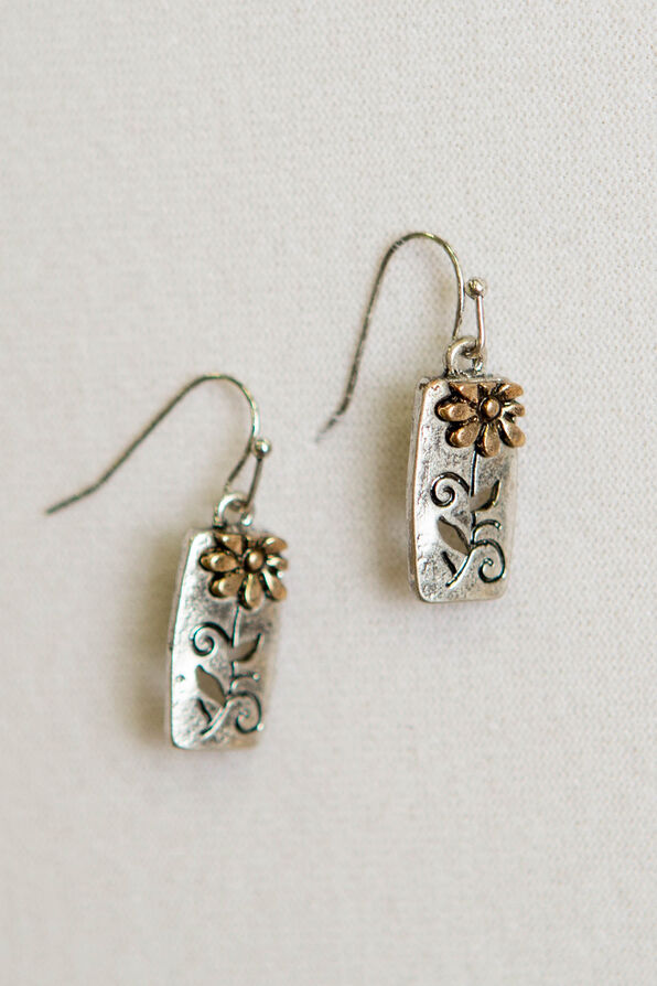 Posy Dangle Earrings, Multi, original image number 0