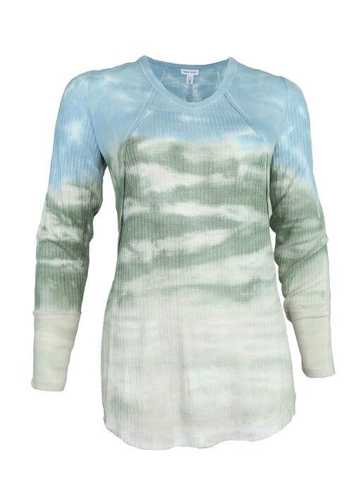 Terra Tie-Dye Waffle Shirt, , original