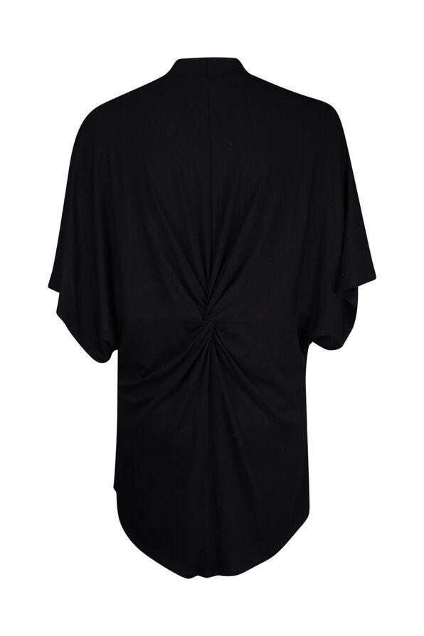 Knot back Kimono, Black, original image number 1