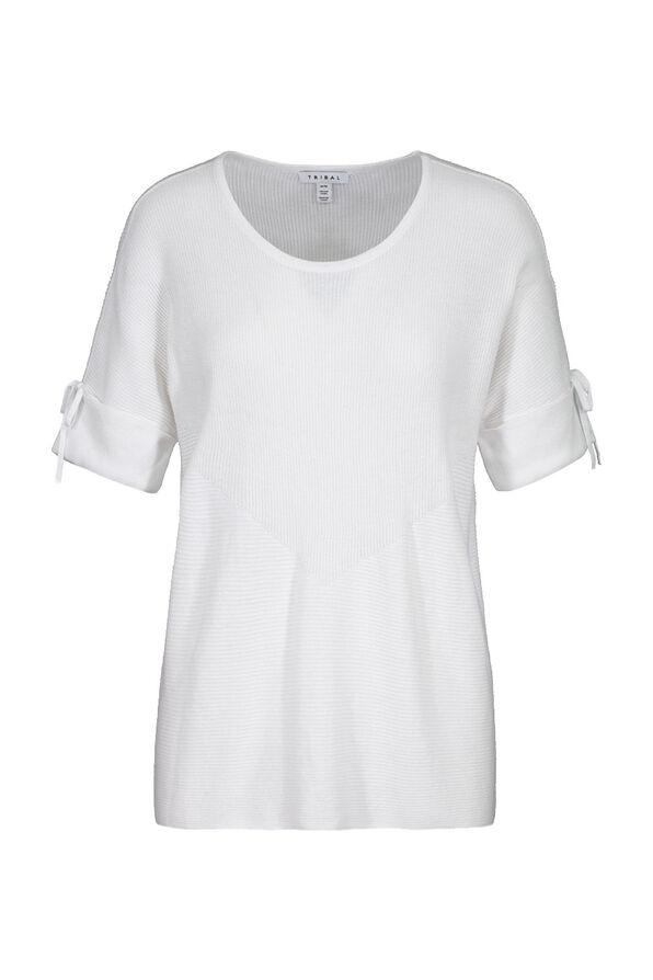 Dolman Short Sleeve Sweater, , original image number 1