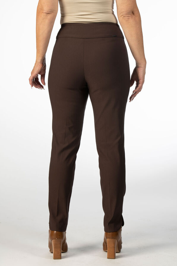 The Abiding Tummy-Control Pants, Brown, original image number 2
