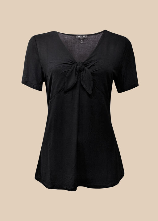 Knotted V-Neck , , original