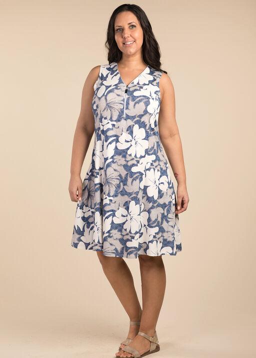 Vintage Lace Dress, Blue, original