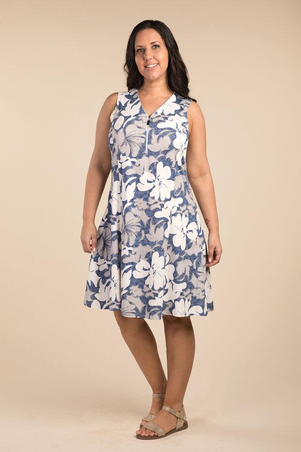 Vintage Lace Dress, Blue, original image number 0