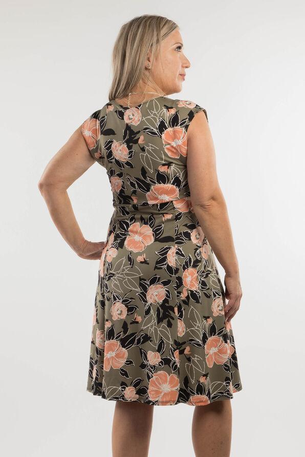 Peach Blossom Dress, Olive, original image number 1
