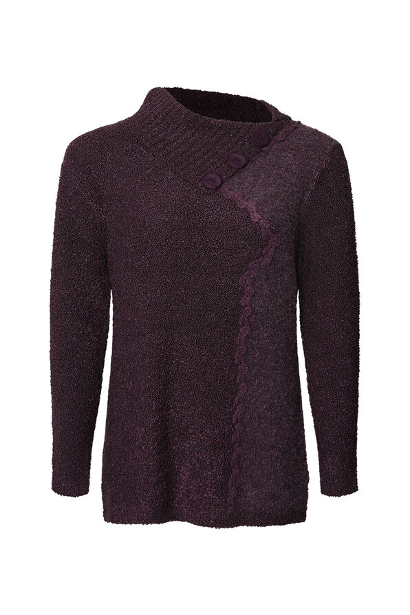 Boucle Knit Sweater, , original image number 0