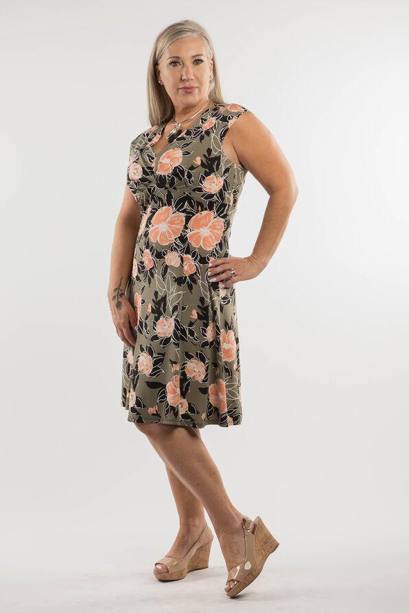 Peach Blossom Dress, Olive, original image number 3