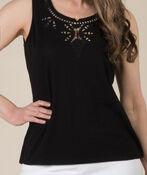 Embroidered Style Sleeveless, , original image number 1