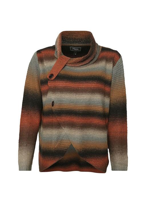 Button Neck Hi-Lo Sweater, , original