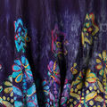 Sleeveless Multi-Coloured Tunic, Purple, swatch