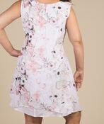 Layered Sleeveless Tunic, White, original image number 1