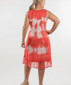 Anita Dress, Coral, original image number 1
