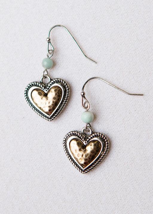 Heart Bead Earrings, , original