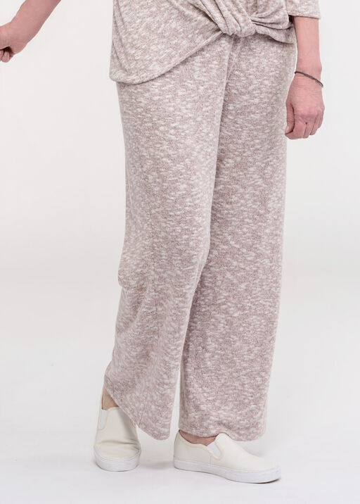 Cozy Wide Leg Lounge Pant, Purple, original