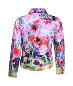Jacket with Hotfix Shoulders, Fuschia, original image number 1